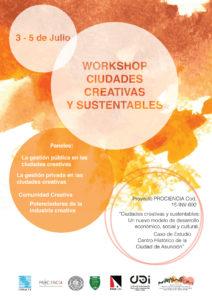 Workshop ciudades creativas y sustentables