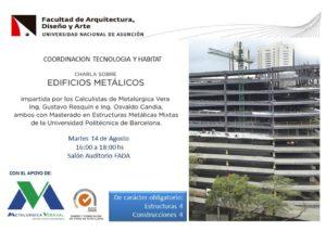 Charla Edificios Metalicos--MV-FADA