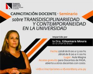 Seminario Taller sobre transdisciplinariedad y contemporaneidad en la Universidad