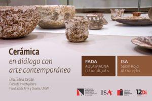 Cerámica en diálogo con arte contemporáneo
