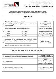Atención se prorrogan las inscripciones del Concurso de Anteproyecto de Arquitectura para la Sede del Bloque Académico/Administrativo y Biblioteca de la FADA/UNA