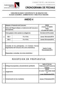 Concurso de Anteproyecto de Arquitectura para la Sede del Bloque Académico/Administrativo y Biblioteca de la FADA/UNA