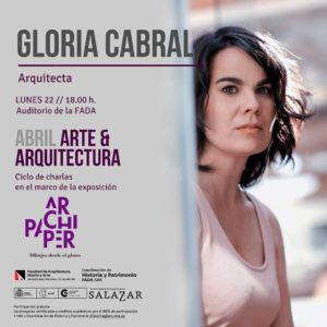 Ponencia de la Arquitecta Gloria Cabral Auditorio de la #FADA