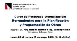 Curso de Actualización «Herramientas para la Planificación»