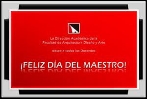 Feliz Día «Maestro»