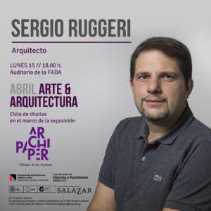 Charla del Arq. Sergio Ruggeri en el Auditorio de la FADA/UNA