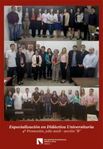 Especialización en Didáctica Universitaria «4ta. Promoción»