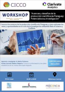 WORKSHOP: Avances y desafíos de la producción científica del Paraguay: Potencialice su investigación
