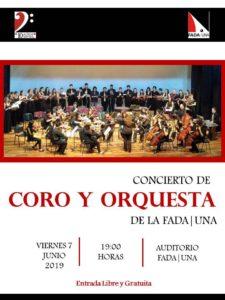 Concierto de Coro y Orquesta de la #FADA